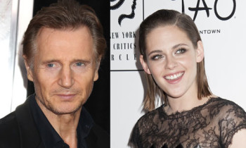 Liam Neeson & Kristen Stewart Are Definitely Not Dating