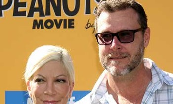 Tori Spelling's Husband Dean McDermott Totes Around Travel Bag Worth $4,000