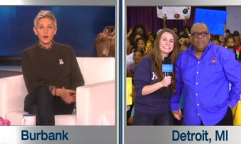 Ellen DeGeneres Surprises Elementary School With Her Most Generous Giveaway Ever