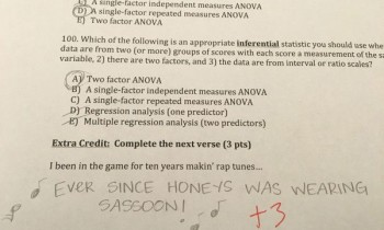 You'll Wish You Had This Math Teacher After Reading These Extra Credit Questions
