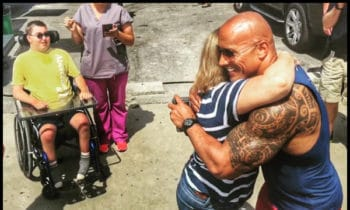 The Rock Might Be A Beast Of A Human But Here's Proof He Has A Heart Of Gold