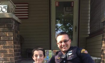 Police Officer Gives His Personal Pokemon Collection To A Boy Who Had His Collection Stolen