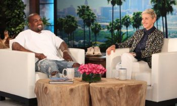 Ellen Let Kanye West Talk For 8 Minutes