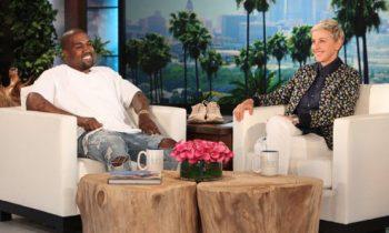 Ellen Let Kanye West Talk For 8 Minutes