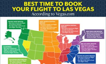The Best Time to Book a Flight to Vegas, Depending on Where You Live