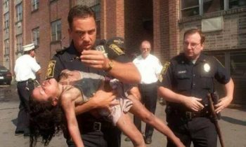 Officer Who Saved A Young Girl From A Fire 20 Years Ago Watches Her Graduate College
