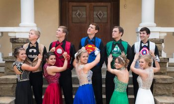 These Kids Showed Up To Their Prom In Perfectly-Coordinated Superhero Outfits