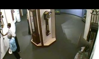 Man ignores museum rules, touches priceless Clock which falls from wall and smashes