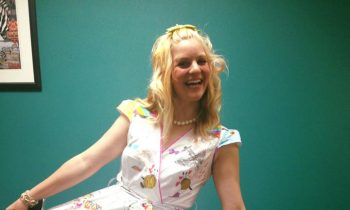 This Teacher Wore An Odd Dress On The Last Day Of School. Check Out Whats On It!