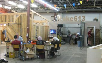 Makerspace North, from Empty Warehouse to Maker Magnet