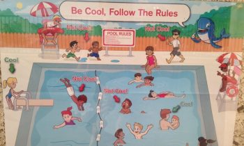 People Are Complaining This Red Cross Pool Safety Poster Is Racist When It's Not