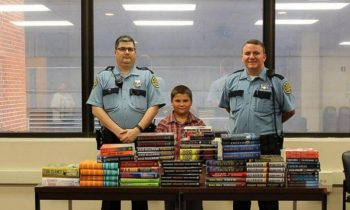 5th Grader Uses His Allowance Money To Donate 100 Books To The Local Jail