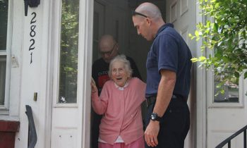 See Why An Entire Fire Department Lined Up Outside This Elderly Womans House