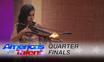 Ryan Stock & AmberLynn: Daredevil Team Suffers From Scary Mistake – America's Got Talent 2016