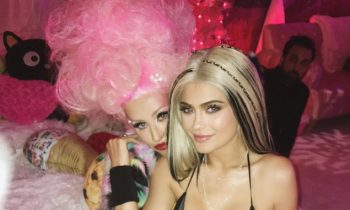 Kylie Jenner Went To Christina Aquilera's Birthday Party Dressed As Xtina