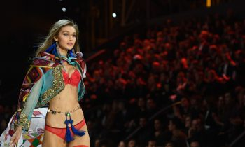 Gigi Hadid Wore This Stuff In The 2016 Victoria's Secret Fashion Show