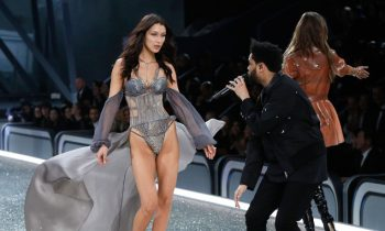 Bella Hadid & The Weeknd Made The 2016 Victoria's Secret Fashion Show Awkward