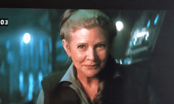 Here's A Cut Carrie Fisher Scene In 'Star Wars: The Force Awakens'