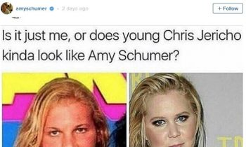 New Conspiracy: Is Amy Schumer Really Chris Jericho? | Conspiracy Corner