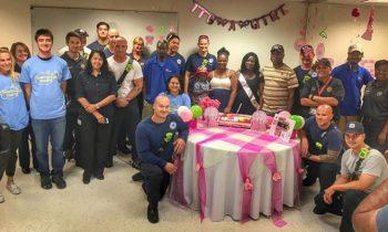 Firefighters Throw Baby Shower For Woman Who Lost Everything In Fire