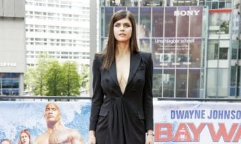 Alexandra Daddario Did The Berlin 'Baywatch' Premiere
