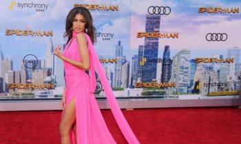 Zendaya Did The 'Spider-Man' Premiere