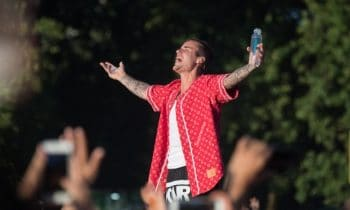 Justin Bieber Ran Over A Dude Outside A Church With His Monster Truck