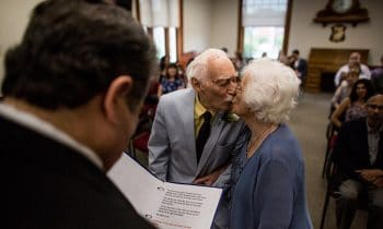 98-Year-Old Marries 94-Year-Old After Meeting At The Gym