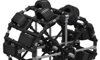 Mindstorms Soccer Robot Inspired by Real Soccer Robot