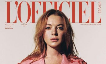 Lindsay Lohan Is On A Magazine Cover