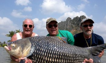 Fishing Buddies Use Dead Friends Ashes As Bait And Catch The Biggest Carp In The World