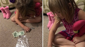 Grandma Asks Why Shes Putting All Of Her Money In A Bag. Her Response Moved Her To Tears