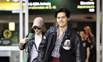 Lili Reinhart Is Now Wearing Cole Sprouse's Clothes in Public