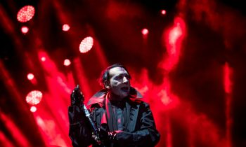 A Stage Prop Fell On Marilyn Manson