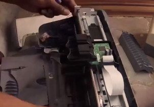 Homebuilt Laser Engraver Using Salvaged Parts