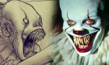 IT Director Shares Wicked Pennywise Killmouth Sketch