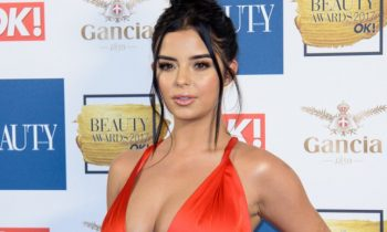 Demi Rose Did The OK! Beauty Awards