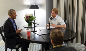 Prince Harry Interviewed Barack Obama, and It Was the Cutest