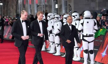 The 'Star Wars' Cast Had a Huge Party at Prince William and Prince Harry's Palace