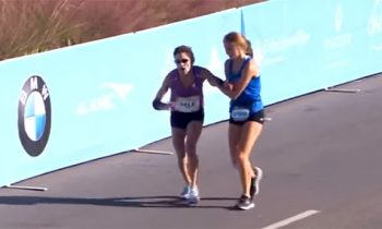 Unparalleled Sportsmanship: Teen Helps Collapsed Woman Win Marathon