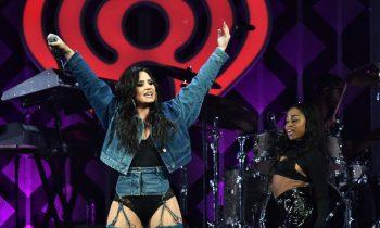 Demi Lovato Did The 2017 Jingle Ball