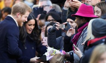 Prince Harry & Meghan Markle Did Their First Public Thing Together