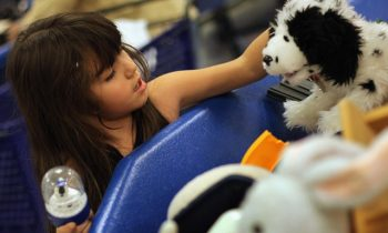 Anonymous Donor Buys Every Toy At Goodwill And Gives Them All To Children