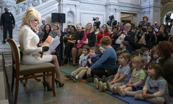 Dolly Parton Donates 100 Millionth Book To Children