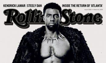 Chadwick Boseman Covers 'Rolling Stone'