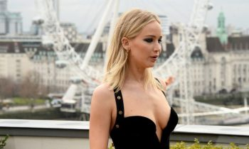 Jennifer Lawrence Did The 'Red Sparrow' Photocall