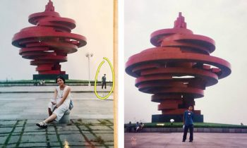 Married Couple In China Discover They Appeared In The Same Photo As Teenagers