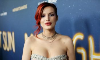 Bella Thorne Cleaned Up For A Premiere