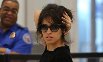 Camila Cabello Somehow Turned Airport Security Into a Fashion Shoot
