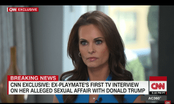 Karen McDougal Talked About Banging Donald Trump On CNN Last Night